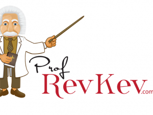 Prof. Rev Kev Website Launch