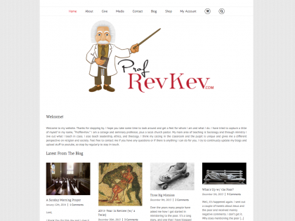 Prof Rev Kev – Website