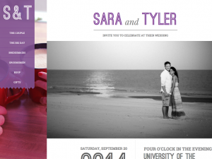 Wedding Website | TylerSara.com